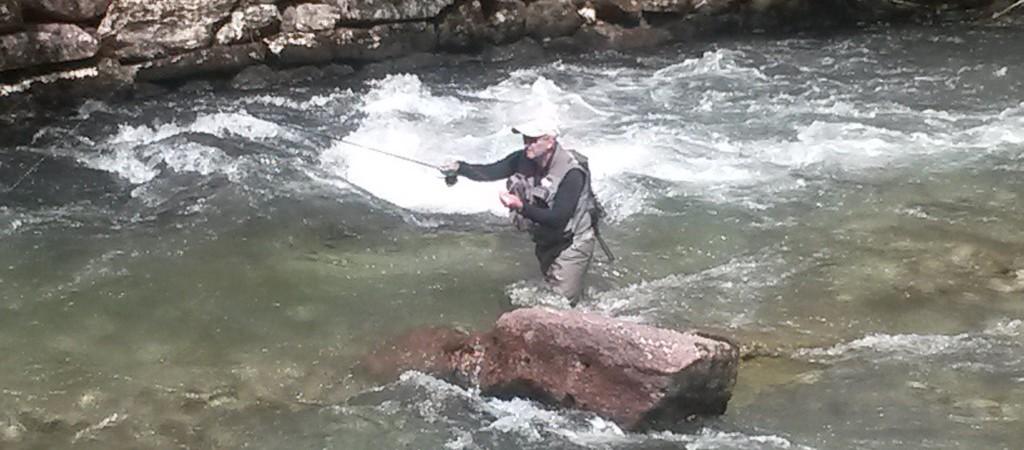 Perfectionnement pêche en nymphe