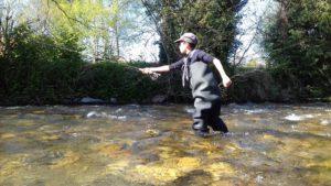 Moniteur Guide pêche mouche FLY FISHING Pyrénées