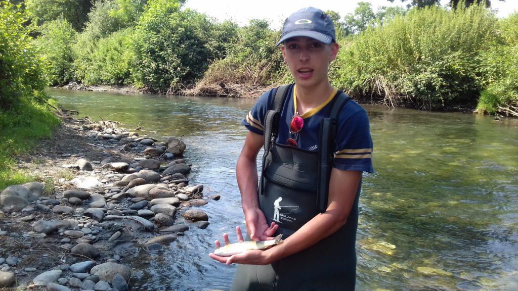 La pêche à la mouche en initiation