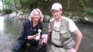 Guide peche mouche voyage étranger FLY FISHING Pyrénées
