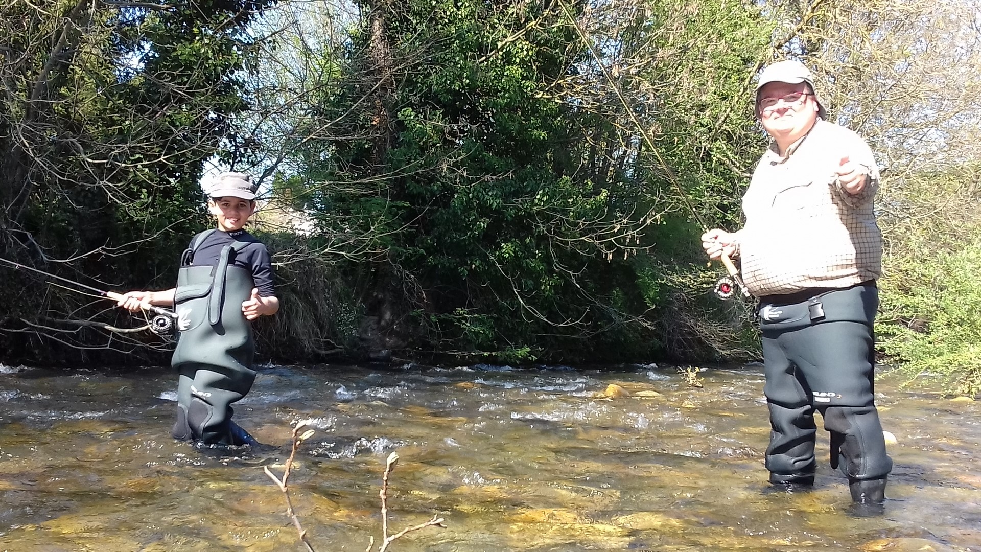 wading peche mouche
