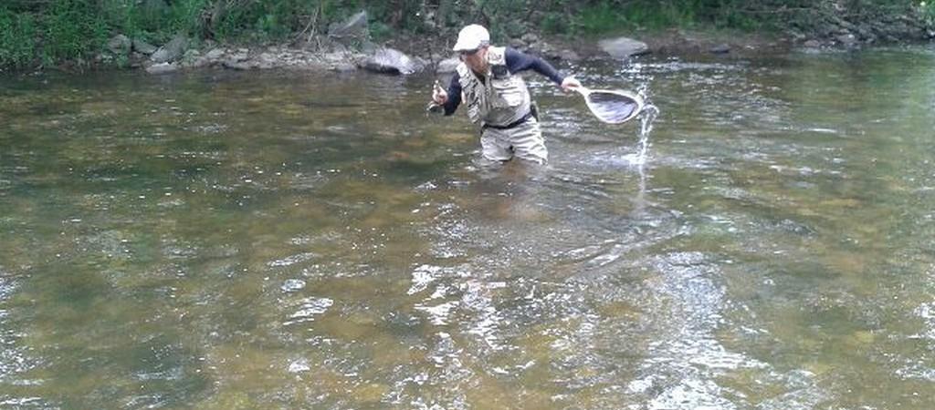 FLY FISHING Pyrénées Pêche à la mouche en nymphe