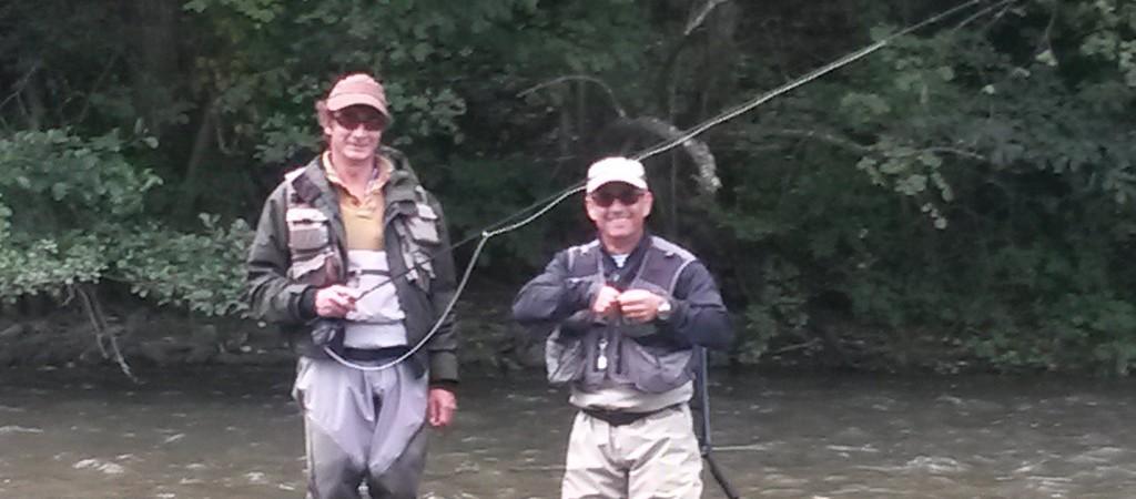 Alexandre RODRIGUES Guide de pêche à la mouche dans les Pyrénées