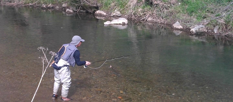 Alexandre RODRIGUES Pêche à la mouche dans les Pyrénées