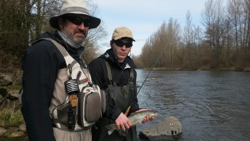 Alexandre RODRIGUES Guide pêche à la mouche Ariège, Haute Garonne et Hautes Pyrénées