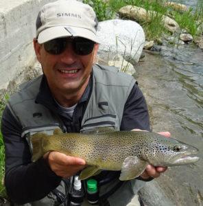 Séjours pêche mouche Espagne Rio Noguera Pallaresa