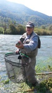 Guide pêche mouche FLY FISHING Pyrénées