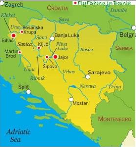 Séjour pêche mouche Bosnie