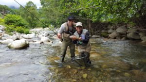 Holidays French Pyrénées. Fly Fishing French Guide