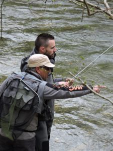 Voyage pêche mouche